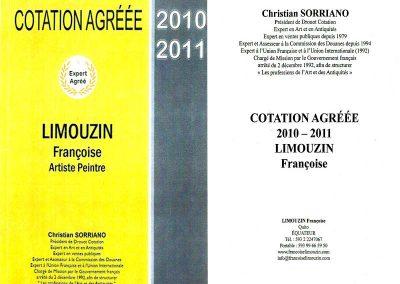 COTATION AGRÉÉE - 2009